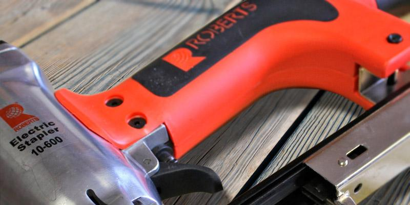 Review of Roberts Model 10-600 Professional Electric Stapler