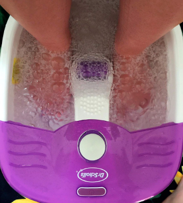 Review of Dr. Scholl's DRFB7010B4 Foot Bath Massager