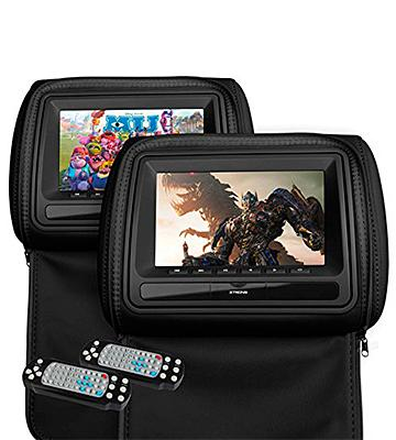Review of XTRONS Portable Dual DVD Player  with Headphones