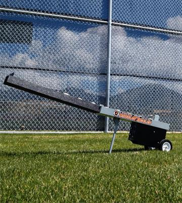 Review of Athlonic Automatic Baseball Pitching Machine