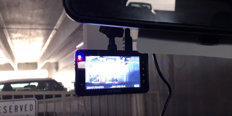 Review of Old Shark A1OS-GS505-T032 Dash Cam