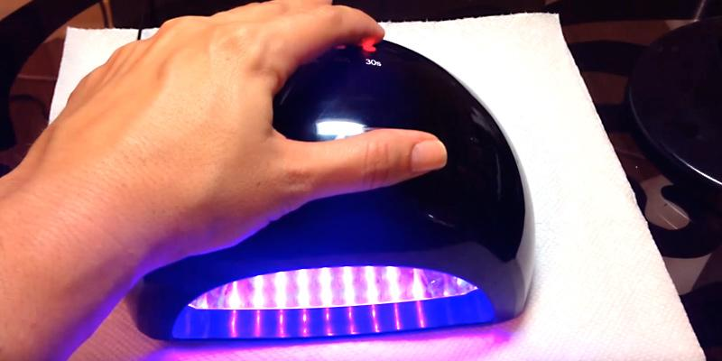 MelodySusie Violetili LED Nail Dryer in the use