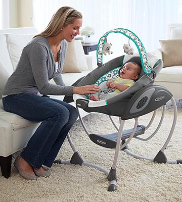 Review of Graco 1Y47AFN Gliding Swing Affinia