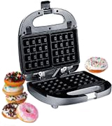 ZZ S6142A-S Sandwich Waffle Burger and Donut Maker