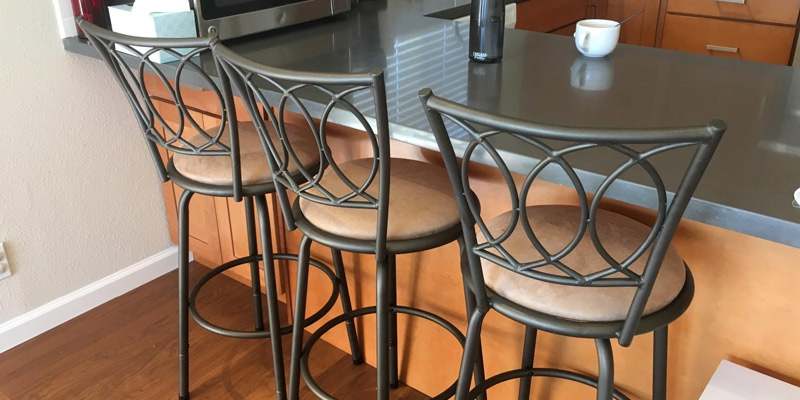 Review of Home Creek Adjustable Swivel Barstools