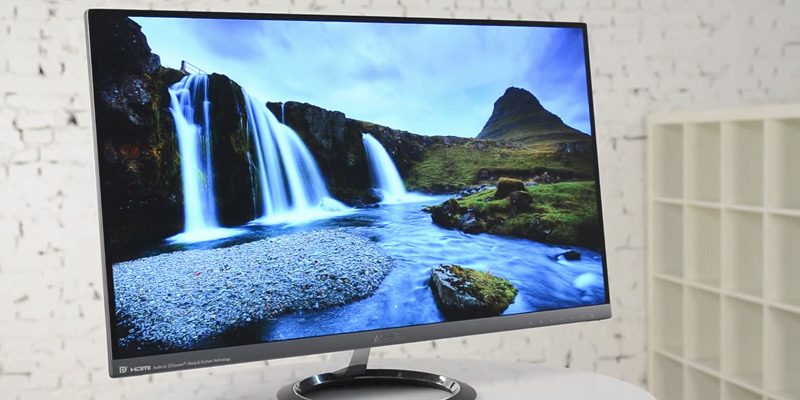 Review of ASUS Designo MX25AQ Frameless Monitor