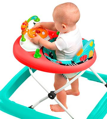 Review of Bright Starts Walk-A-Bout Walker, Roaming Safari