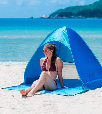 Review of iCorer Automatic Pop Up Instant Pop Up Quick Cabana Sun Shelter