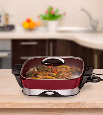 Review of Presto National Presto 07115 Electric Foldaway Skillet