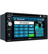 Jensen VX7022 2 DIN Touchscreen Receiver with Bluetooth