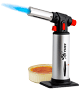 Jo Chef Adjustable Flame Kitchen Blow Torch