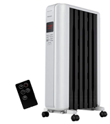 Pelonis NY1506-18SRA Space Heater in Steel Cover, Portable Oil Heater