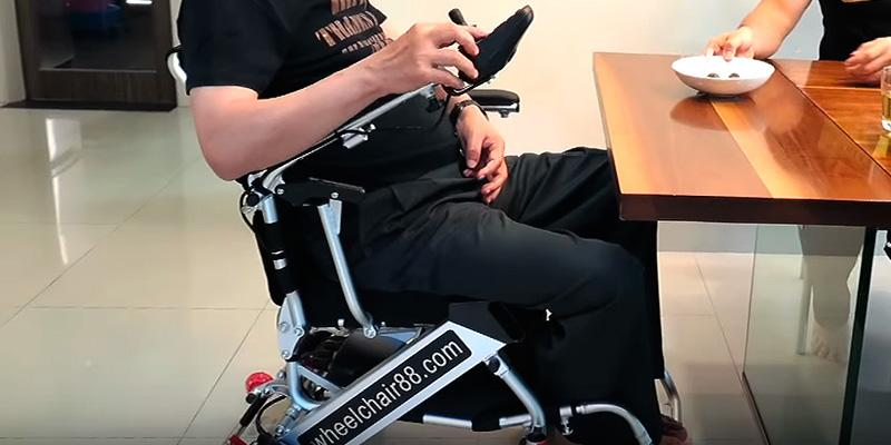 Review of Wheelchair88 Foldawheel PW-999UL Foldable Electric Wheelchair