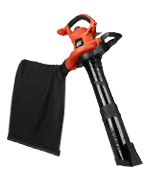 BLACK + DECKER BV6600 Electric Leaf Blower, Leaf Vacuum