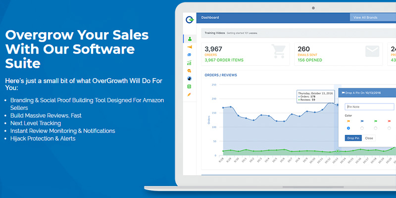 Detailed review of OverGrowth Amazon Seller Software