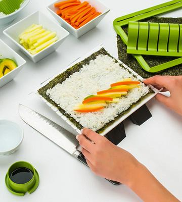 Review of Sushiquik Super Easy Detachable sushi mat