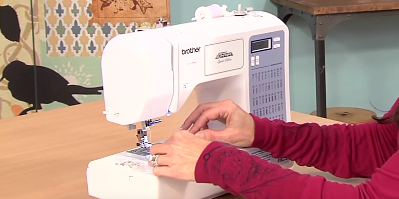 Review of Brother CS5055PRW Project Runway Sewing Machine with Automatic Threading