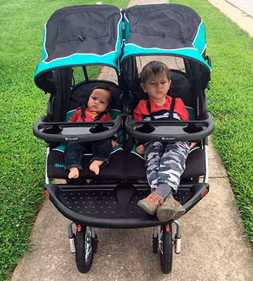 Review of Baby Trend Navigator Double Jogger Stroller