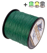 Hercules Cost-Effective Super Strong 4 Strands Braided Fishing Line 6LB to 100LB Test