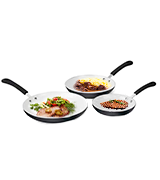 David Burke Fry Pan Set Aluminum