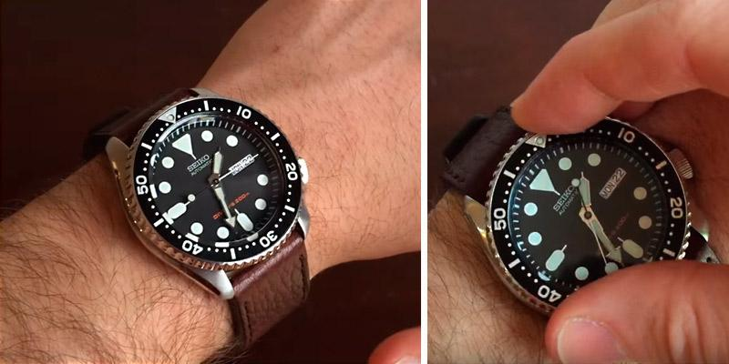 Detailed review of Seiko SKX007K Men's Automatic Analogue Watch with Rubber Strap