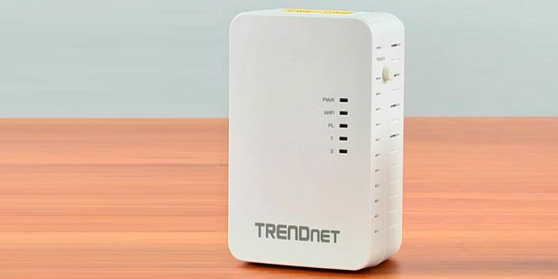 TRENDnet Powerline 500 AV TPL-410APK Kit with Wi-Fi Extender in the use