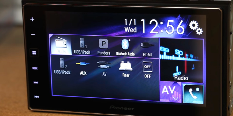 Review of Pioneer AppRadio 4 SPH-DA120 Touchscreen Bluetooth Receiver