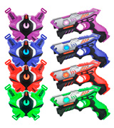 TINOTEEN Infrared Laser Tag Guns Set with Vests