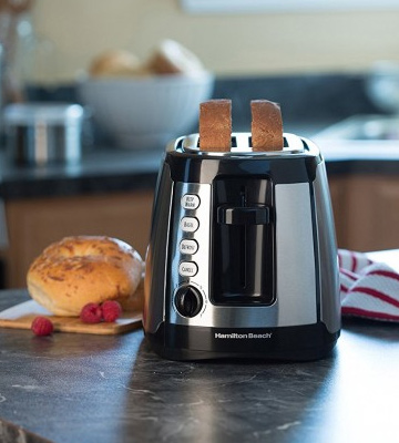 Review of Hamilton Beach 24810 Long Slot Keep Warm Toaster