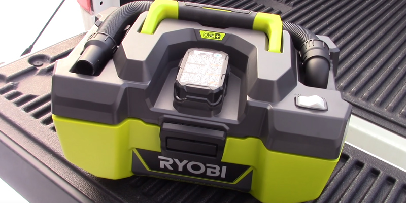Review of Ryobi 18-Volt ONE+ Wet/Dry Vacuum and Blower with Accessory Storage