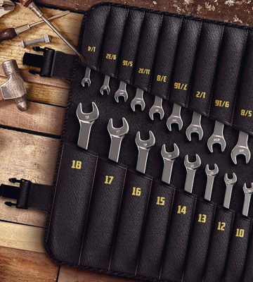Review of ToolGuards TG201 22 Piece Ratcheting Wrench Set (Inch and Metric)