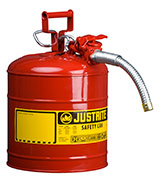 Justrite 7250130 Red Safety Can