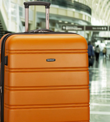 Review of Rockland 2 piece Hardside Luggage Set
