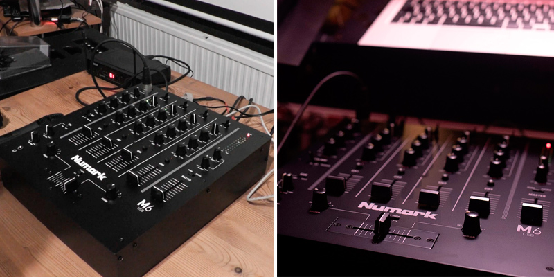 Review of Numark M6 USB 4-Channel DJ Mixer
