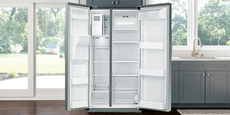 Review of Samsung RS25J500DSR 24.52 cu. ft. Freestanding Side by Side Refrigerator