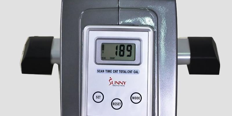 Sunny Health & Fitness SF-RW5515 Magnetic Rowing Machine in the use