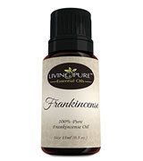 Living Pure Essential Oils 100% Natural & Organic Frankincense Essential Oil