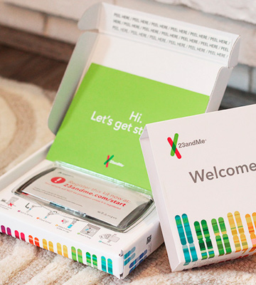 Review of 23andMe DNA Genetic Testing & Analysis