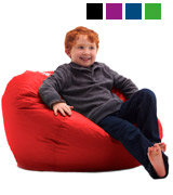 Big Joe 641613 Bean Bag Flaming Red
