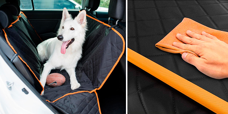 Review of Active Pets Dog Back Seat Cover Protector Waterproof Scratchproof Nonslip Hammock