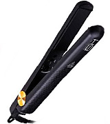 HSI PROFESSIONAL Ceramic Tourmaline Ionic Flat Iron (E038) Incl Glove, Pouch, & Travel Size Argan Oil Hair Treatment