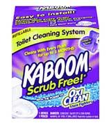 Kaboom with OxiClean Scrub
