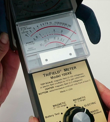Review of Trifield 100XE EMF Meter