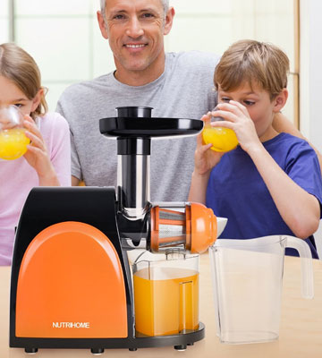 Review of NUTRIHOME AMR509 Masticating Juicer