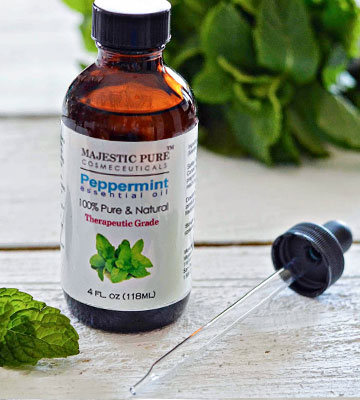 Review of Majestic Pure Peppermint 100% Pure Essential Oil