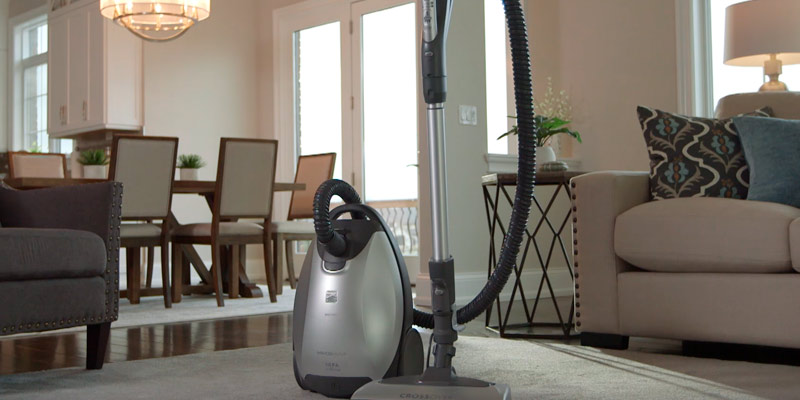 Review of Kenmore CrossOver (21814 ) Elite Canister Vacuum
