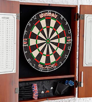 Review of Winmau Blade 4 Bristle Dartboard