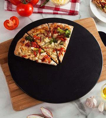 "Review of Heritage 15"" Ceramic Pizza Stone"