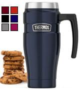 Thermos Vacuum Insulated 16 oz Travel Mug with Handle