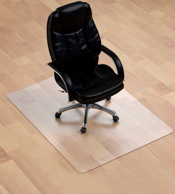 Review of MuArts 1/8 Thick 47 X 35 Thickest Chair Mat for Hardwood Floor